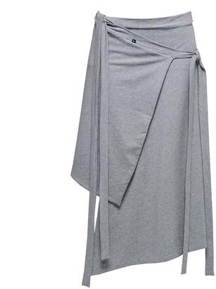 Non+ Non393 Grey Tied Skirt
