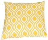 """Festive Home Decor Nicole Yellow Decorative Pillow Cover, 20 x 20"""""""
