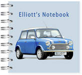 STUDY Amanda Hancocks Mini Cooper Car Notebook