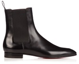 Christian Louboutin Roadie Leather Chelsea Boots