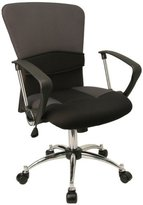 Everlast Furniture Mid-Back Mesh Adjustable Office Computer Chair W/ Arms