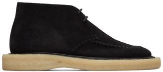 Jil Sander Black Desert Ankle Boot
