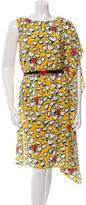 Tsumori Chisato Printed Silk Dress w/ Tags