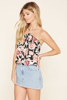Forever 21 Floral Cropped Cami