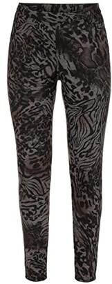 Tribal Pull-On Leggings (Coffee) Women's Casual Pants
