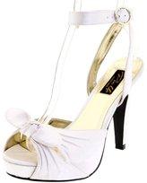 Pleaser USA Women's Bettie-04/IV Ankle-Strap Sandal