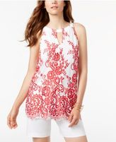 INC International Concepts Lace Halter Top, Only at Macy's