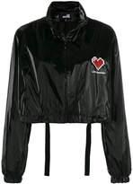 Love Moschino cropped logo jacket