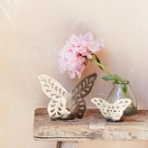 Graham and Green Iron Butterfly Tea Light Holders