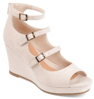 Journee Collection Skyla Wedge Sandal