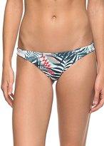 Roxy Women's Printed Strappy Love Reversible Mini Bikini Bottom