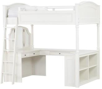 Pottery Barn Teen Chelsea Vanity Loft Bed