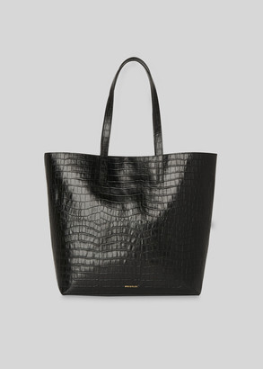Denmark Unlined Croc Tote