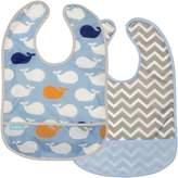 Kushies Baby B1182-2 Clean Bib Waterproof-Bib