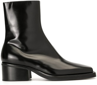 Y/Project Toe Cap Ankle Boots