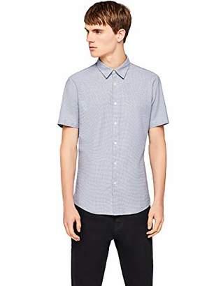 find. Men's Cotton Slim Fit Short Sleeve Shirt,Large
