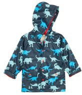 Hatley Toddler Boy's Dino Shadows Print Raincoat