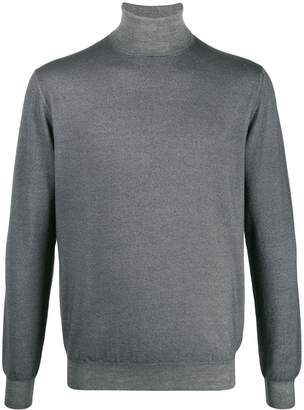 Cruciani knitted roll-neck jumper