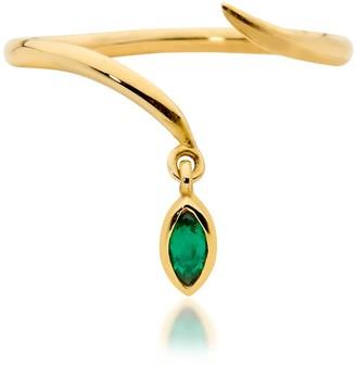 Serafin Jewellery Tiny Emerald Asp Ring