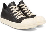 Rick Owens - Cap-toe Leather Sneakers