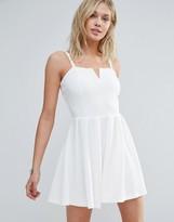 Wal G Strappy Skater Dress