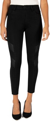 KUT from the Kloth Donna High Waist Moto Ankle Skinny Jeans