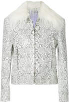 G.V.G.V. faux fur collar jacket