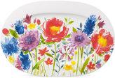 Villeroy & Boch Amnut Flowers Collection Bone China Oval Platter