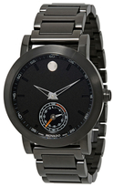 Movado Museum Sport Motion Black Dial Mens Multifunction Watch, 44mm
