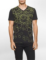 Calvin Klein Classic Fit Abstract Geo T-Shirt