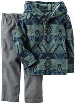 Carter's 2 Piece Sweater Set - Print - 2T