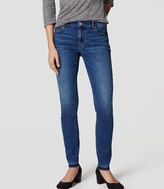 LOFT Curvy Skinny Jeans in Medium Original Enzyme Wash