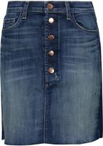 J Brand Rosalie denim mini skirt