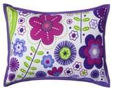 Bacati Throw Pillow - Botanical Purple