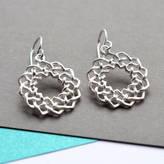 Celtic Martha Jackson Sterling Silver Silver Love Knot Earrings