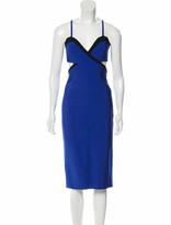 Thumbnail for your product : Thierry Mugler Sleeveless Midi Dress black