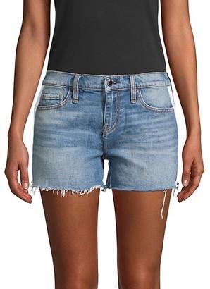 Hudson Gemma Mid-Rise Denim Cut-Off Shorts