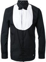 Loveless bow tie print shirt