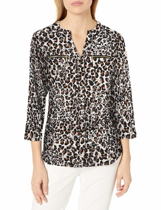 Nanette Lepore Women's Knit Tunic W/Zippers
