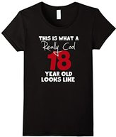 Women's 18th Birthday Gift for him or her tee shirt Small