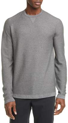 Ermenegildo Zegna Classic Fit Silk Blend Crewneck Sweater