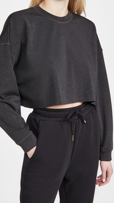 WeWoreWhat Active Cropped Sweatshirt