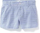 Old Navy Striped Seersucker Shorts for Girls