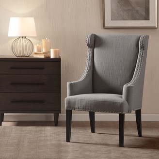 Madison Home USA Lucy Taupe High Back Wing Chair