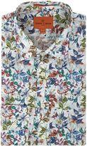 Simon Carter Textured Floral Print Jagger Shirt