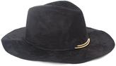 Magid Black Metal-Accent Panama Hat
