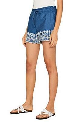 Esprit edc by Women's 049cc1c002 Short, (Blue Dark Wash 901), (Size: )