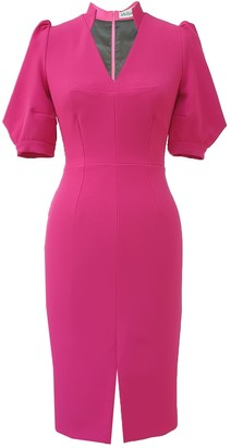 Mellaris Teen Idol Dress Pink Crepe