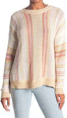 Lush Stripe Knit Sweater