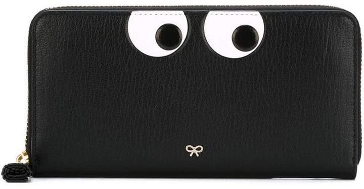 Anya Hindmarch large zip around wallet